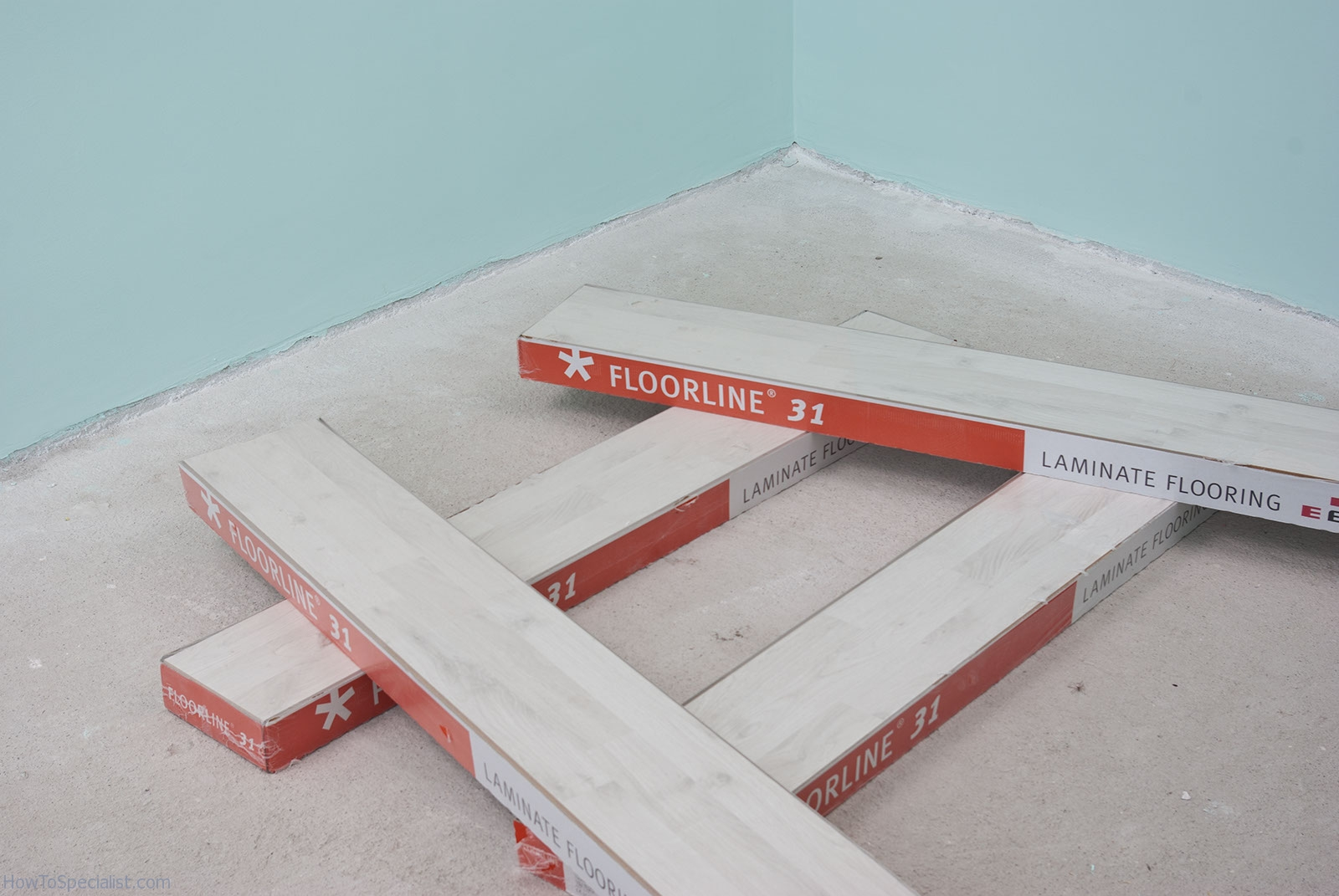 How to prepare the floor before installing laminate flooring