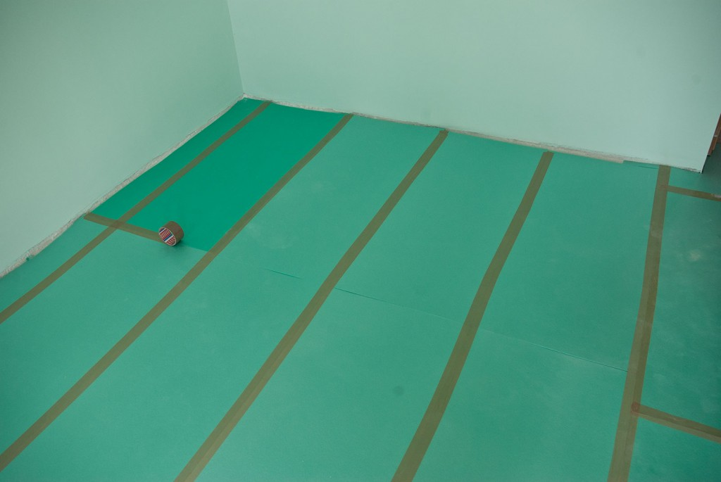 How to install underlay for laminate flooring for Laminate flooring underlay