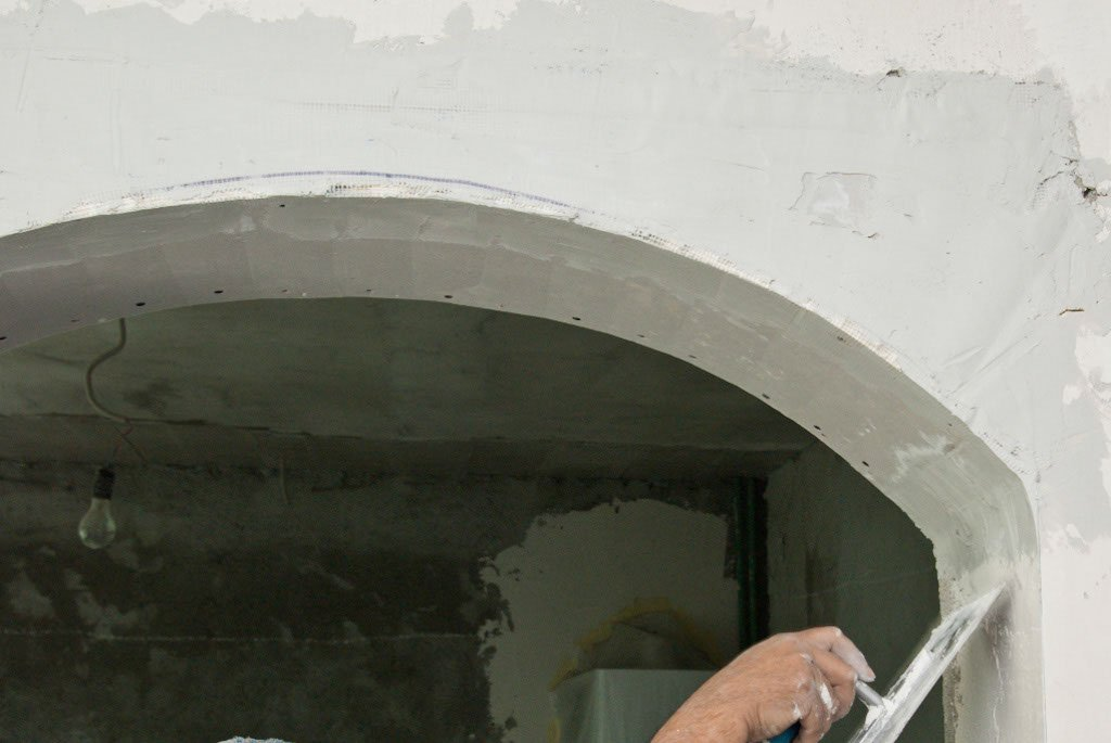 How To Finish A Drywall Arch Howtospecialist How To