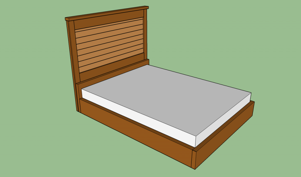 Simple How to build a bed frame
