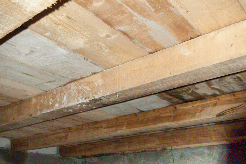 How to install mineral wool between studs