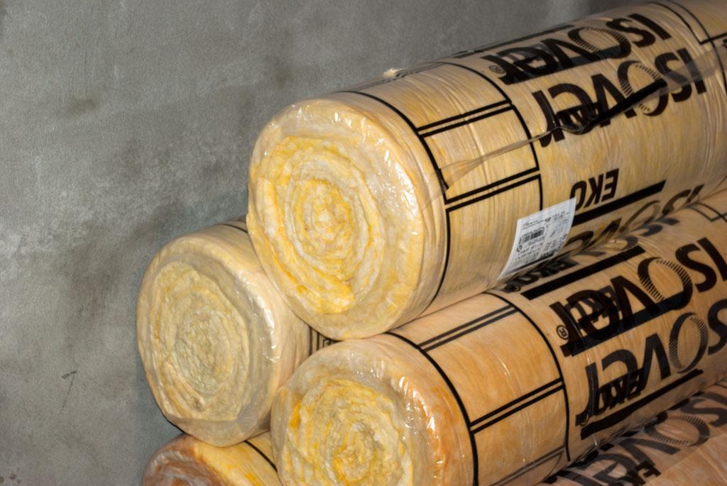Mineral wool rolls