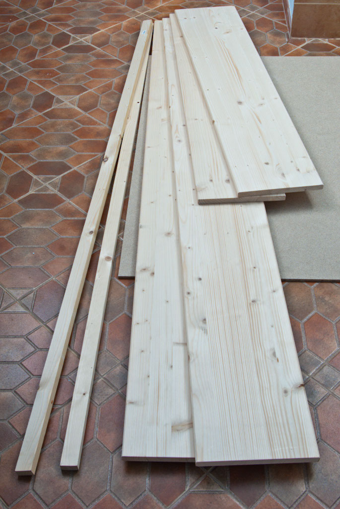 Great Wood boards for bed frame