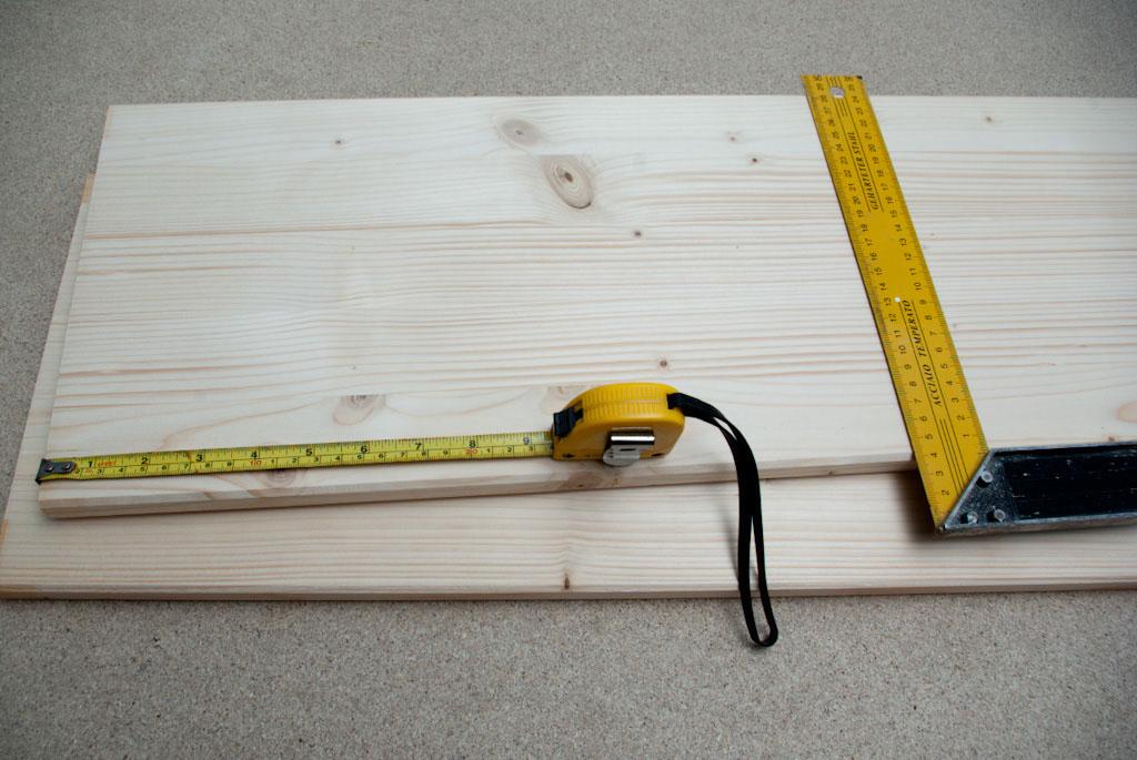 Wood bords measurement