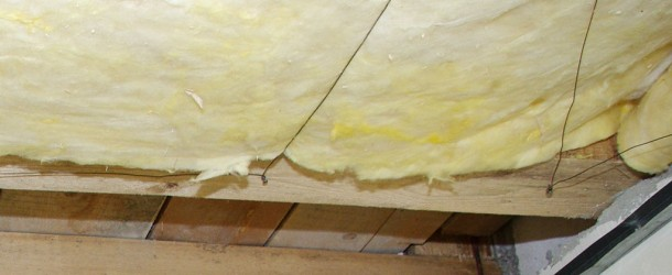 How to install mineral wool
