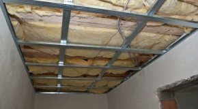 How to install metal stud ceiling
