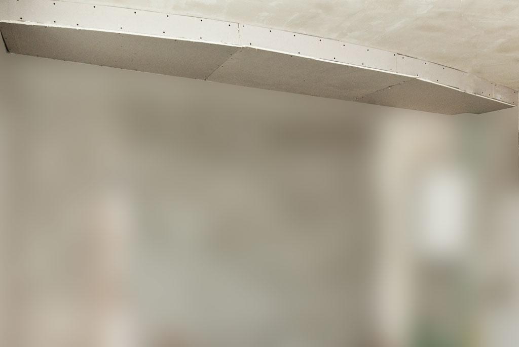 drywall ceiling arch
