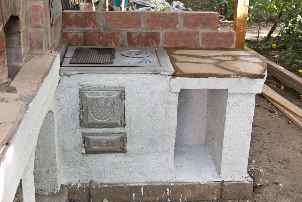 How to build an outdoor stove