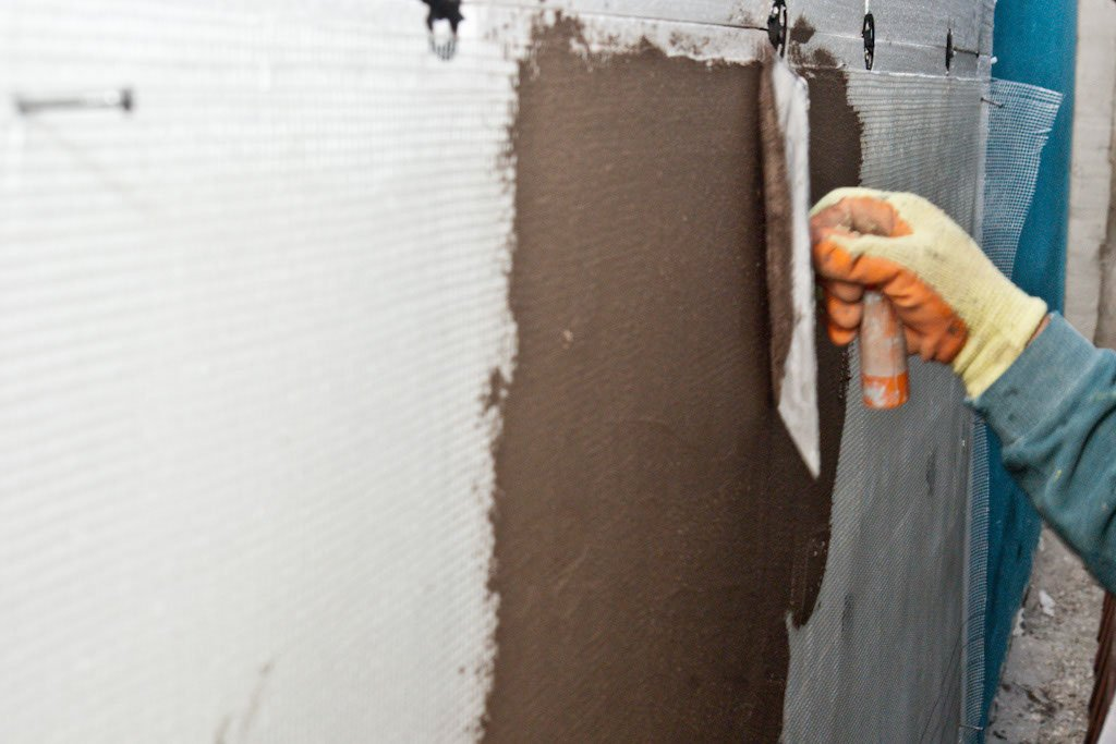 How to finish polystyrene insulation howtospecialist - Polystyrene insulation step by step ...