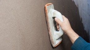 How to finish polystyrene insulation