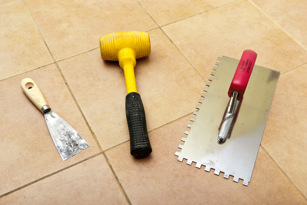 How To Install Tile Flooring HowToSpecialist How To Build Step - Installing tile floor in bathroom