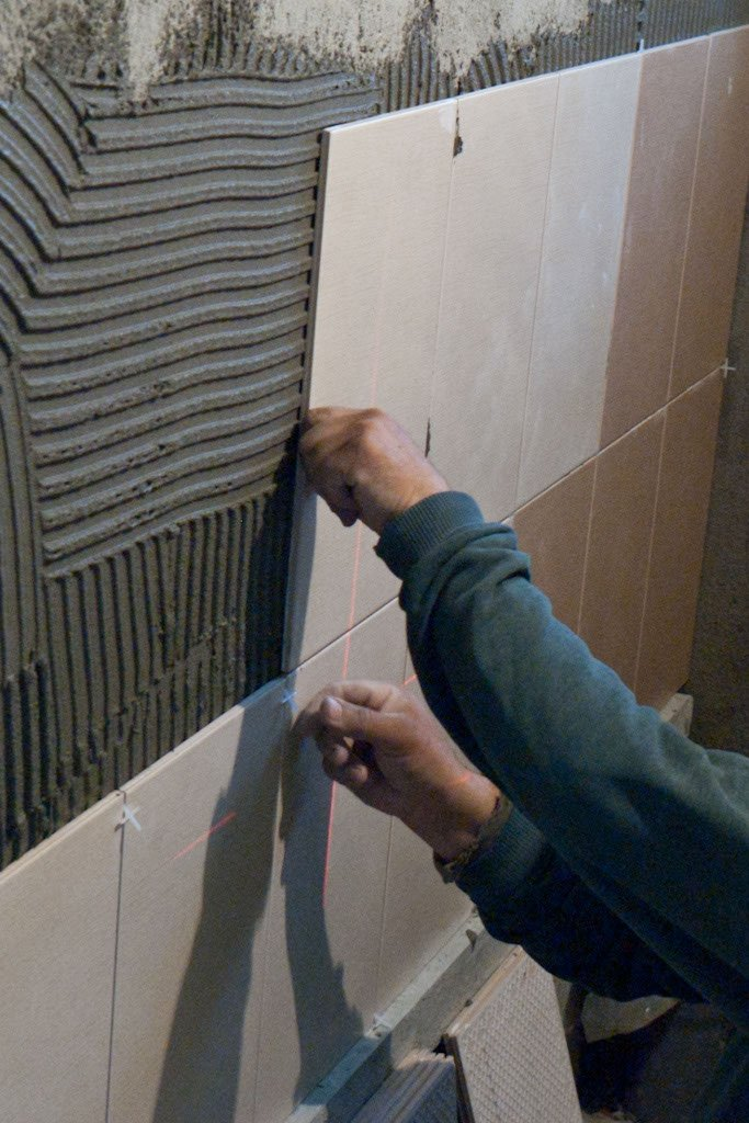 How to install wall tile in bathroom howtospecialist how to build step by step diy plans Install tile shower