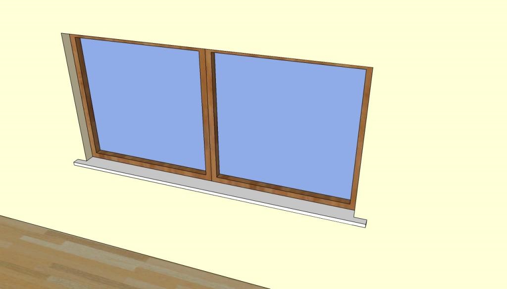 Pvc window sill