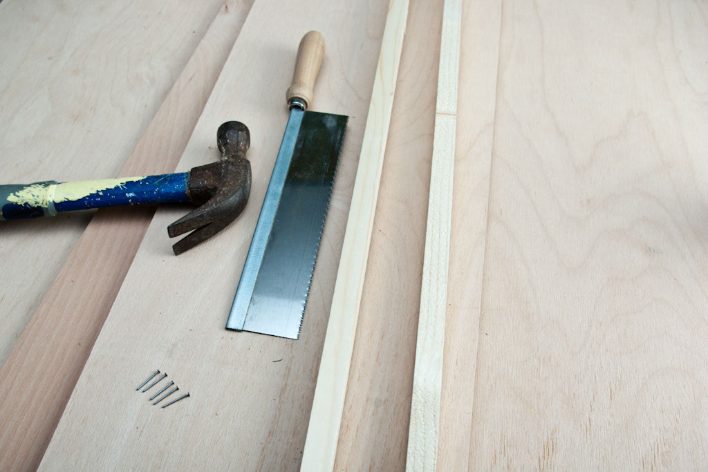 Materials for making a shoe rack