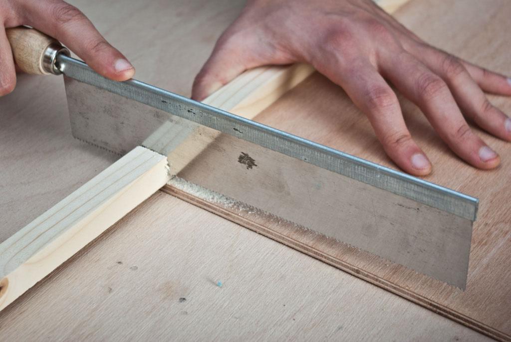 Cutting shelf brackets