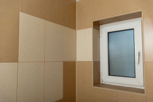 Wall tile in bathroom