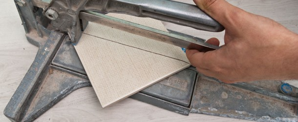 How to cut ceramic tiles