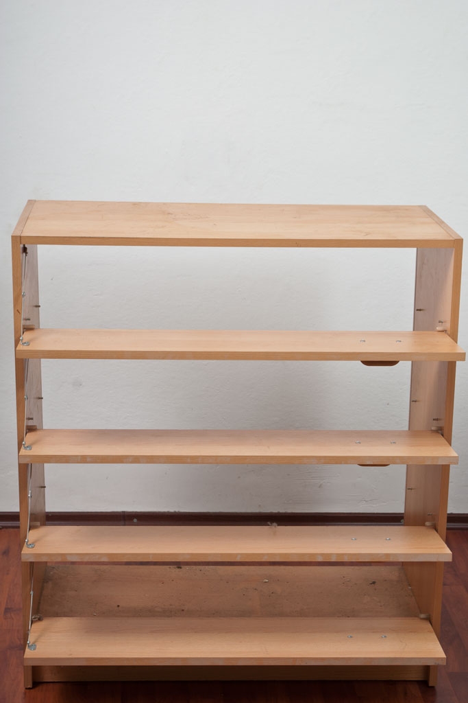 Shoe rack frame