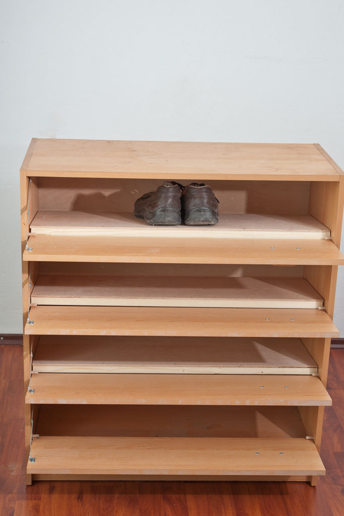 How to make a shoe rack