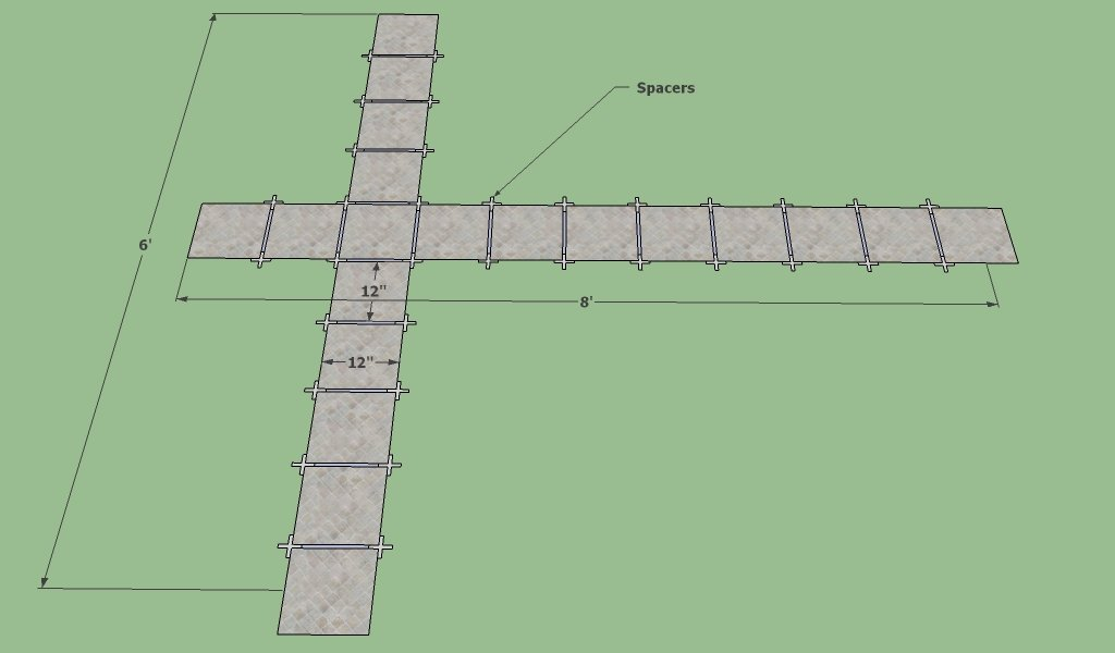 Tile layout