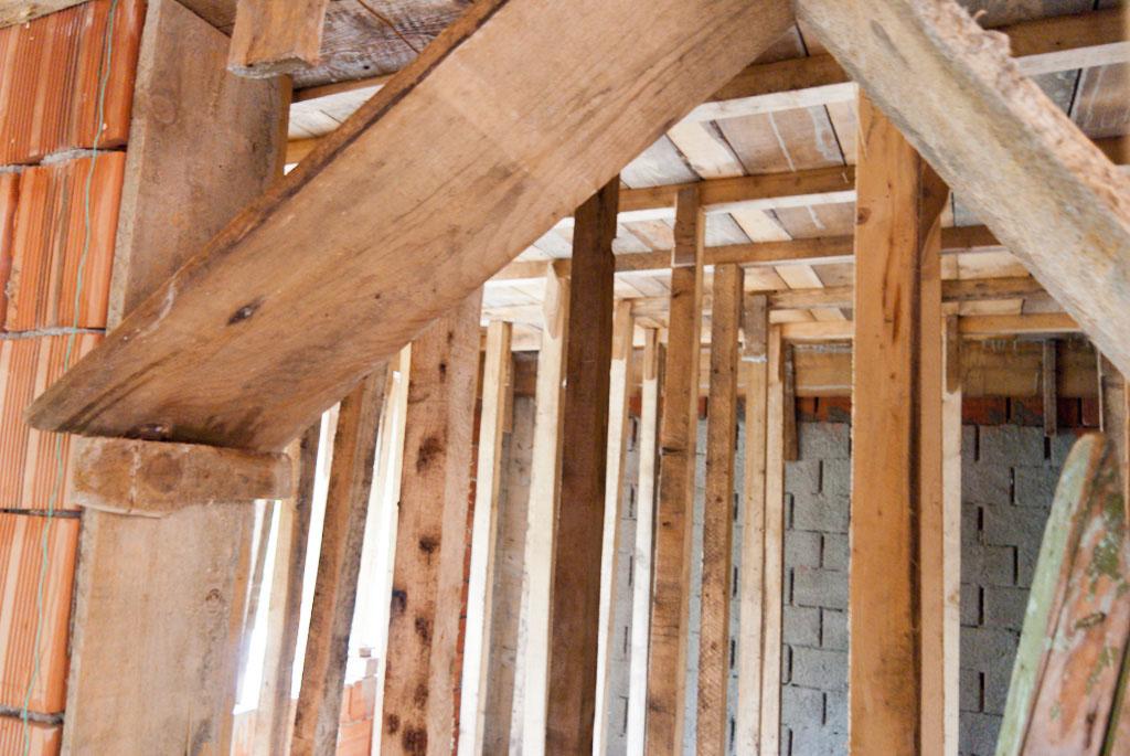 Building ceiling concrete formwork