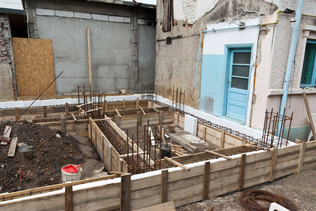 Formwork for foundation