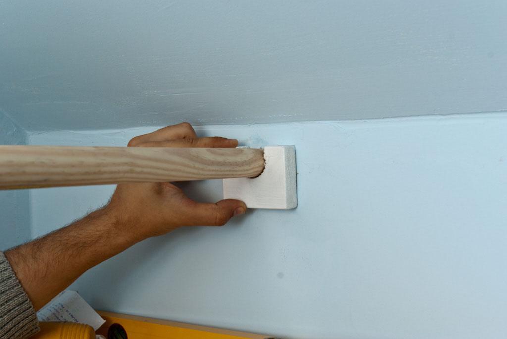 Installing the opposite bracket