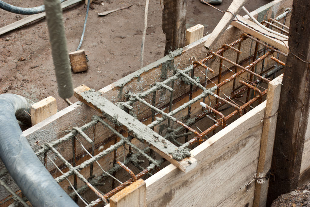Footings reinforcement structure