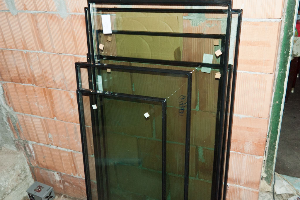 Glass for PVC window