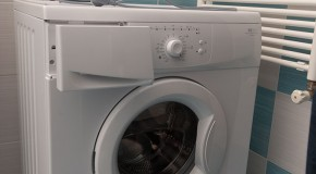 Installing a washing machine