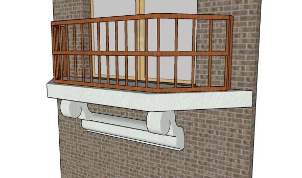 Balcony railing designs