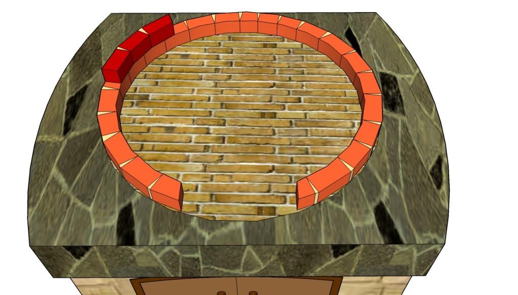 Building the brick dome