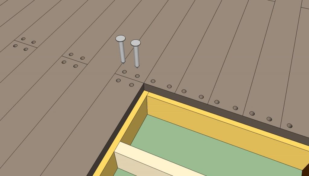 Floating deck plans