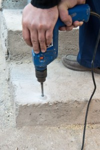 Step Drill Bit >> How to install concrete anchor | HowToSpecialist - How to ...
