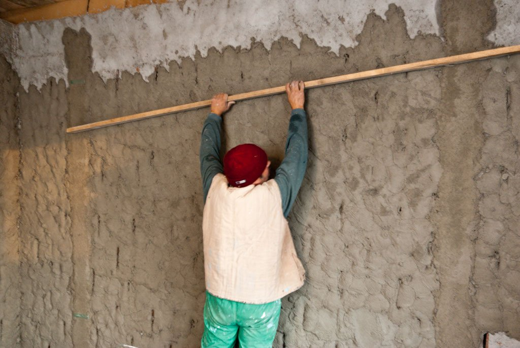 How to cement render a wall