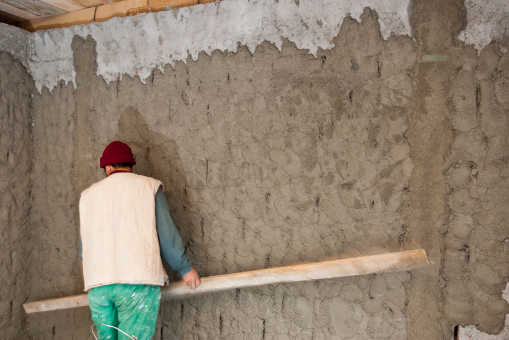 how to cement render a wall howtospecialist how to build step by step diy plans. Black Bedroom Furniture Sets. Home Design Ideas