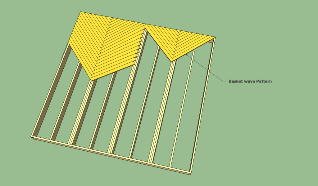 Basket wave pattern