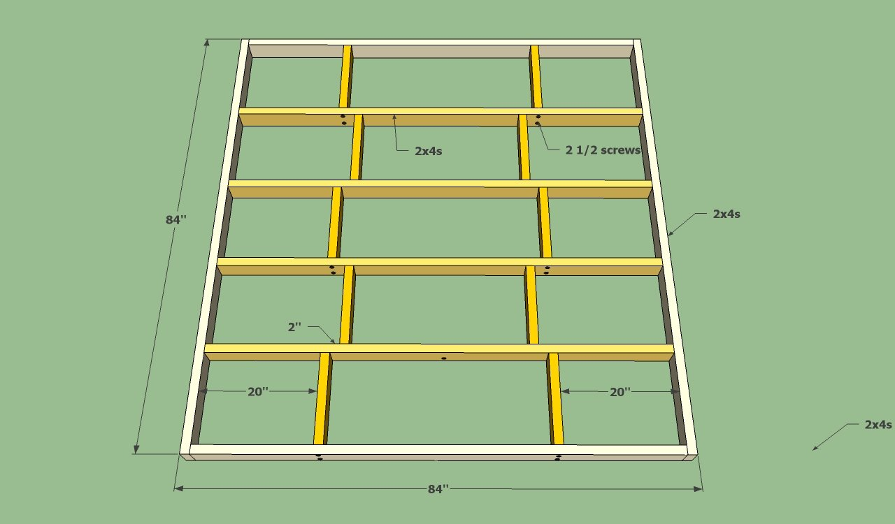 Permalink to build cheap queen platform bed frame