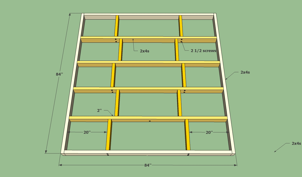build your own queen size platform bed frame | Woodworking Plan Quotes