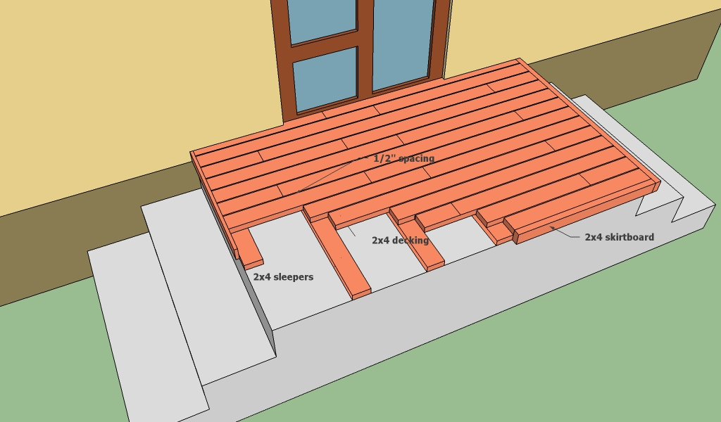 Concrete deck plans