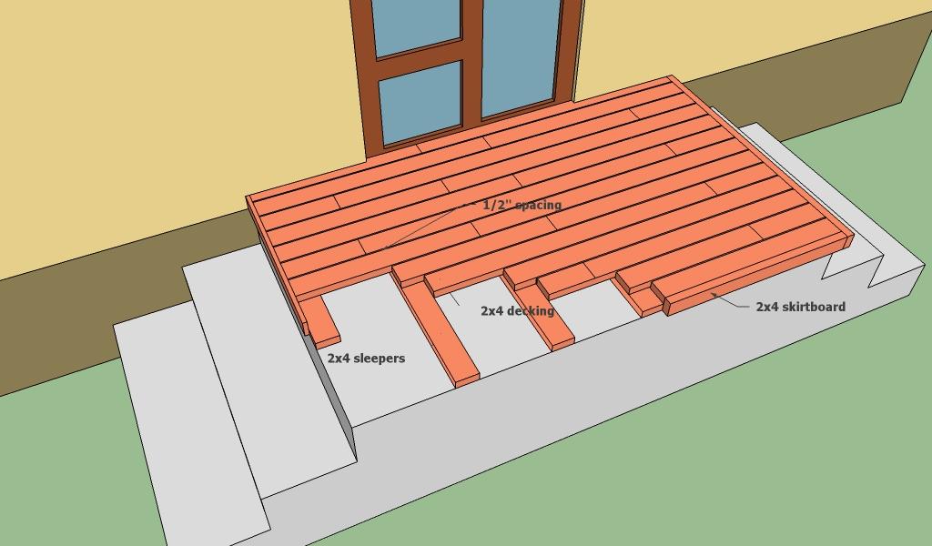 Concrete deck plans