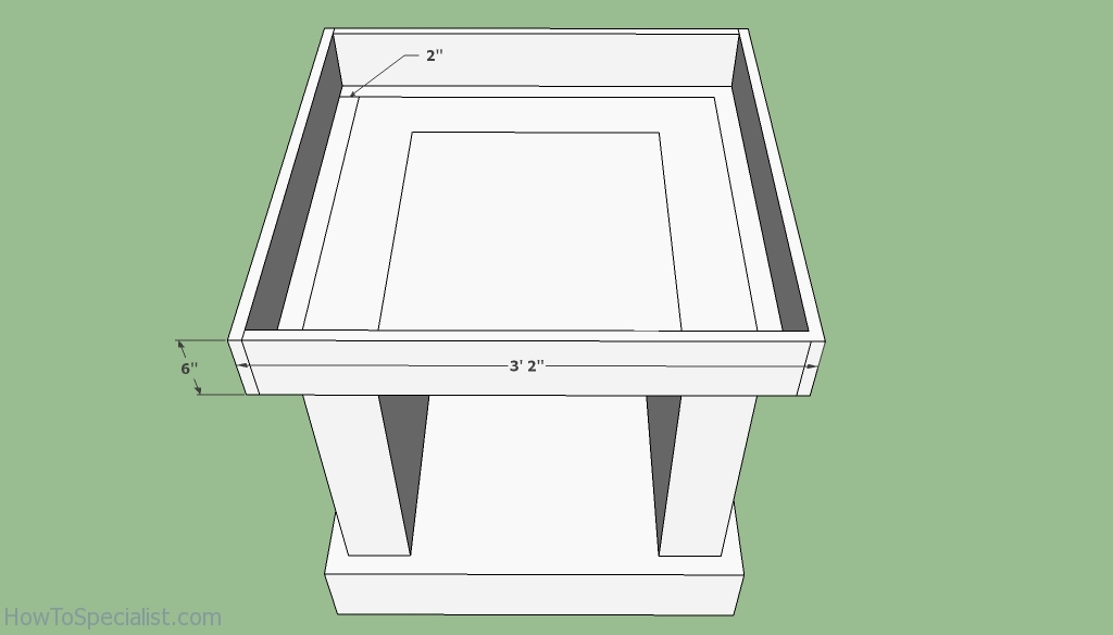 Pizza oven base free plans