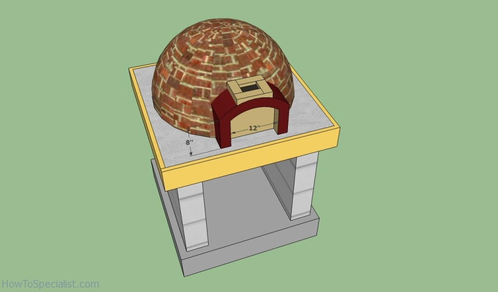 Outdoor pizza oven plans