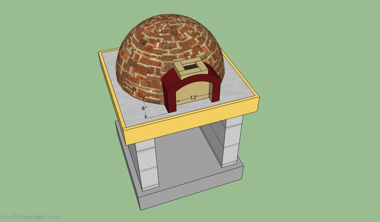 make your own pizza oven plans