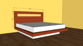 king size platform bed frame plans | HowToSpecialist - How to Build ...