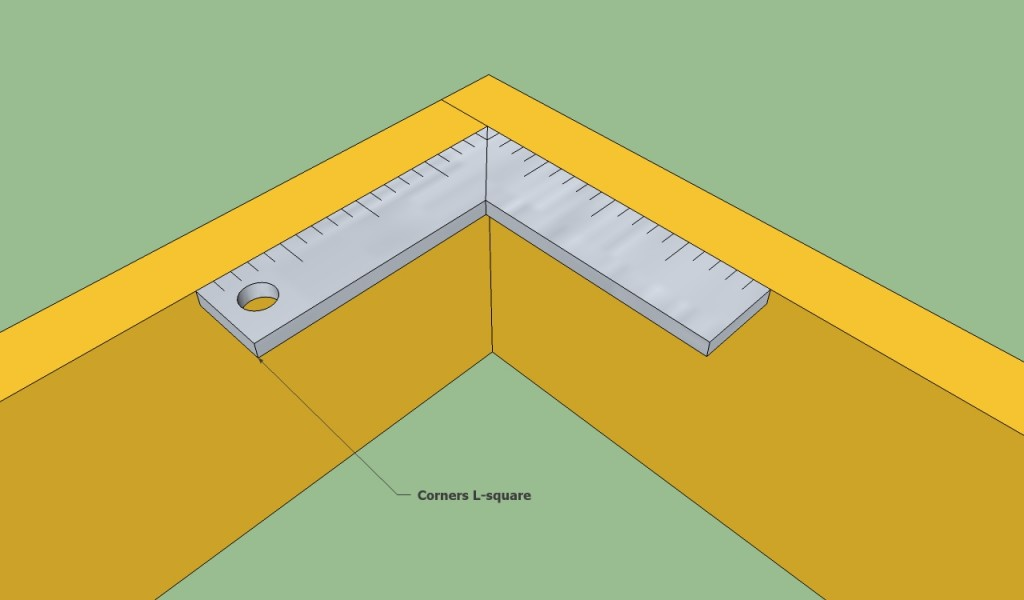 Ensuring frame corners are square