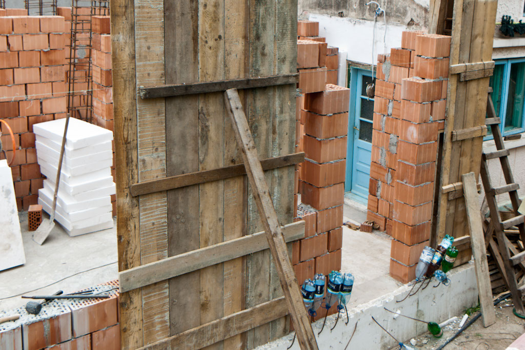 Brick House formwork