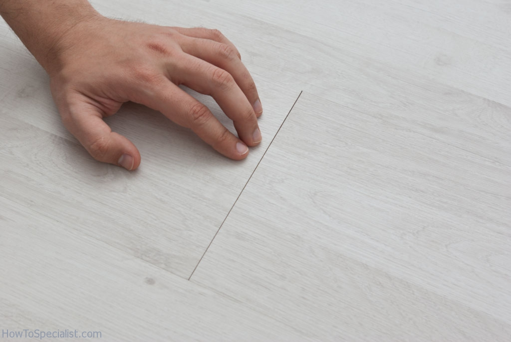 Repairing Laminate Flooring Part - 40: How To Fix Laminate Flooring Gaps