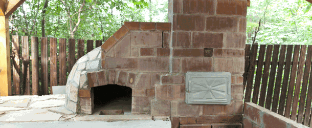 How to make a wood fired pizza oven