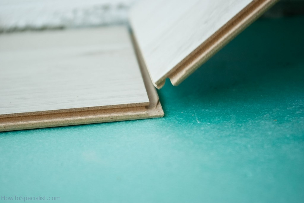 How to lay laminate planks